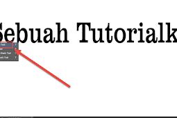 Cara Mudah Membuat Tulisan Teks 3D Dengan Photoshop
