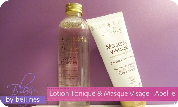 Duo Abellie : Lotion Tonique & Masque Visage