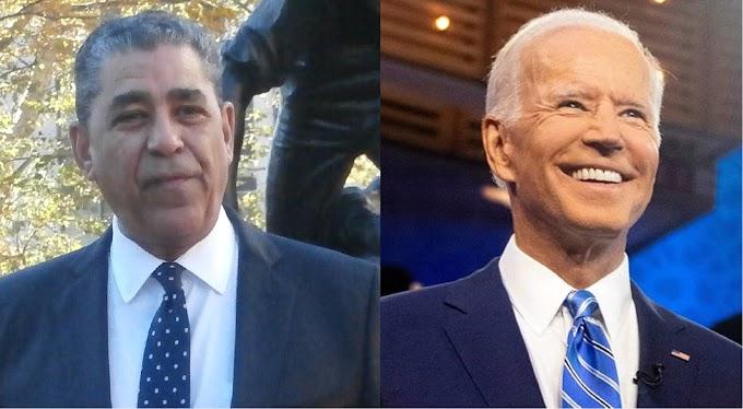Espaillat anuncia apoyo a Joe Biden y pide demócratas votar masivamente en primarias