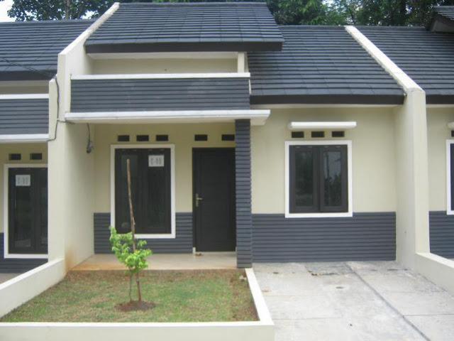 rumah type 36 teras modern