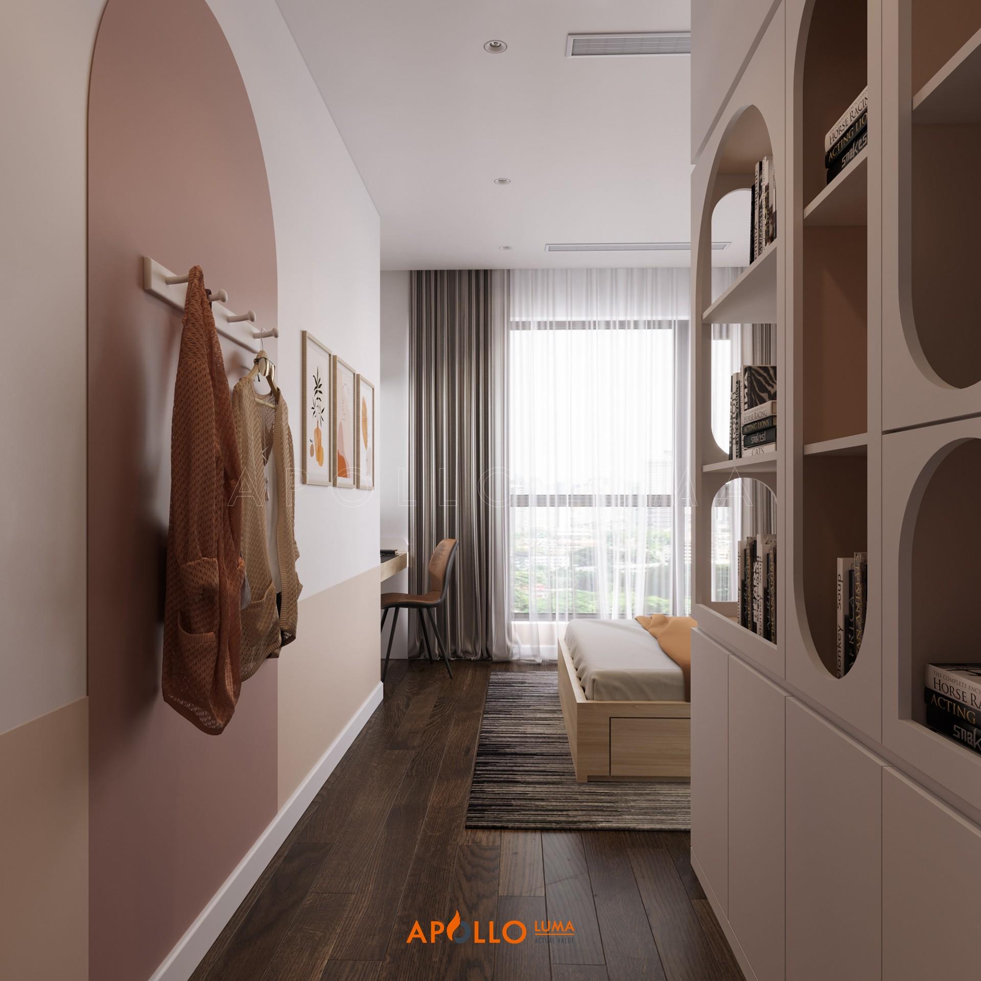Thiết kế nội thất căn 3PN Vinhomes West Point