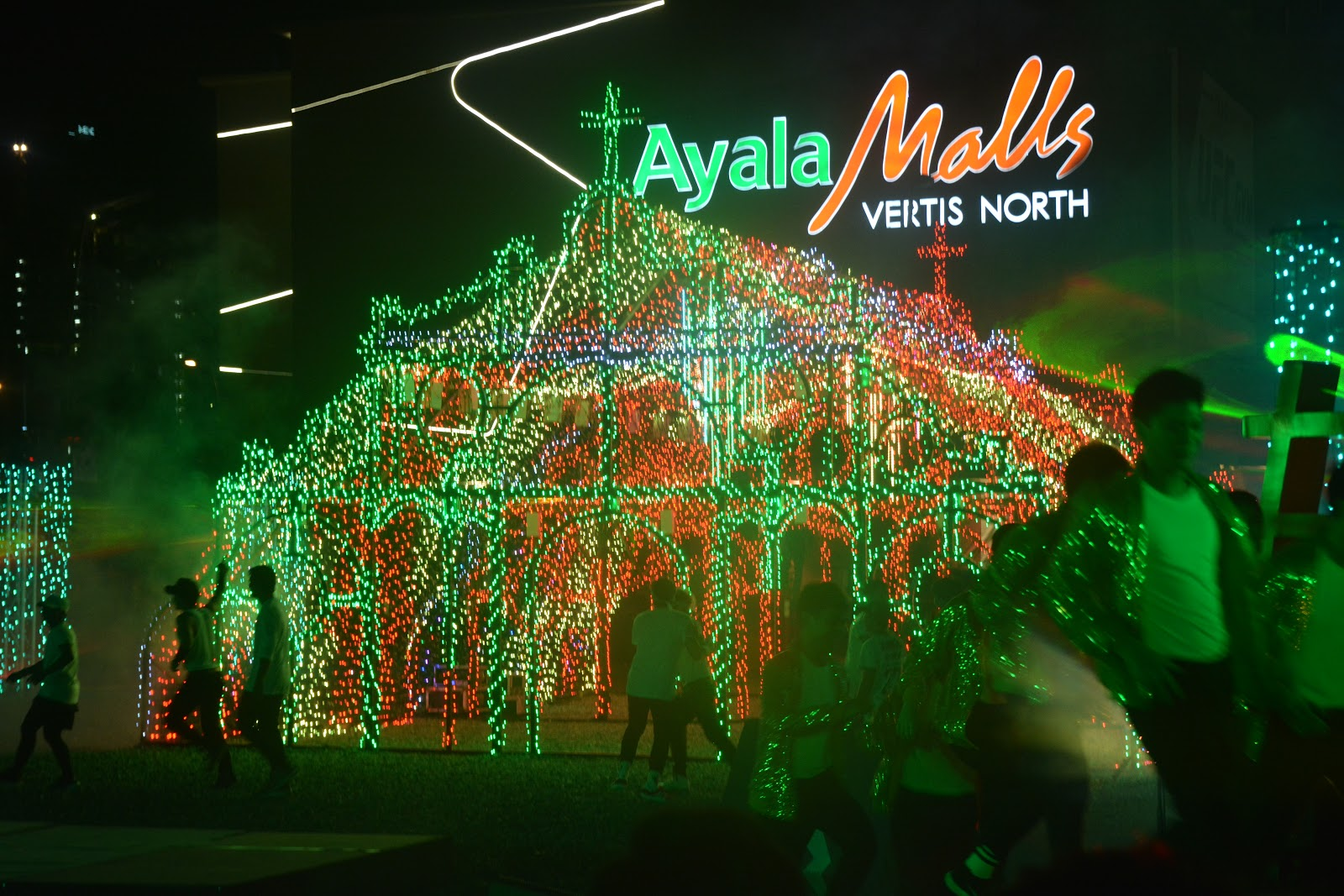 Ayala Land Inc. Brightens QC With World Class Lights U0026 Sounds Called:  Vertis Northern Lights!!!