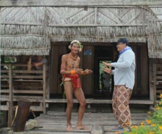 seni ba-taruk budaya asli mentawai