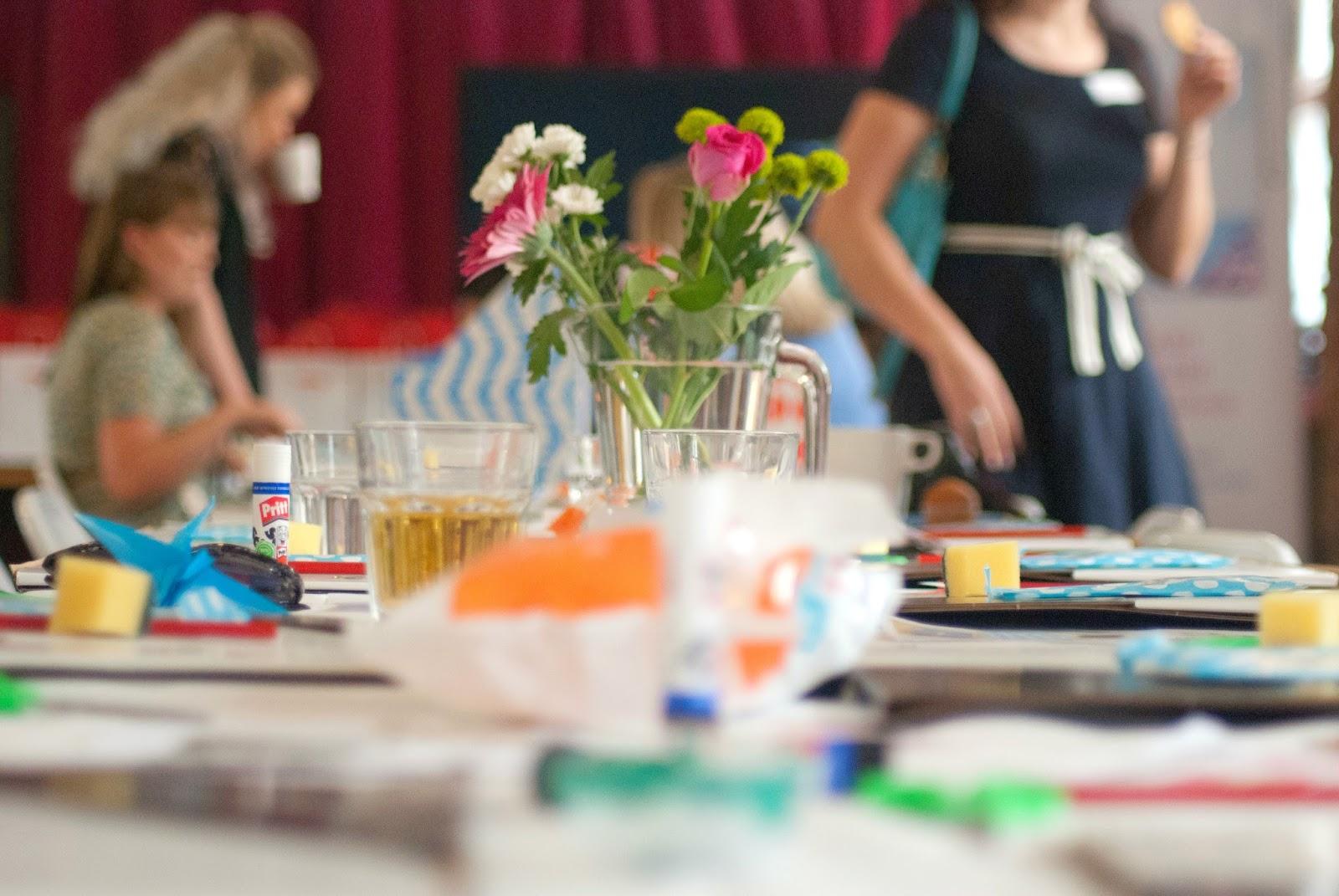 viking arty party lumiere london - 100 Ways to 30, block printing workshop,tea & crafting workshop, crafts, viking crafts, heather UK fashion & lifestyle blogger,