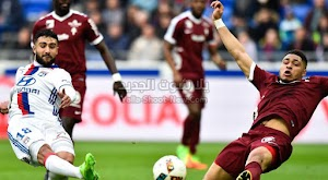 بهدفين بدون رد فريق ليون يفوز على نادي ميتز في الجولة الحادية عشر من الدوري الفرنسي