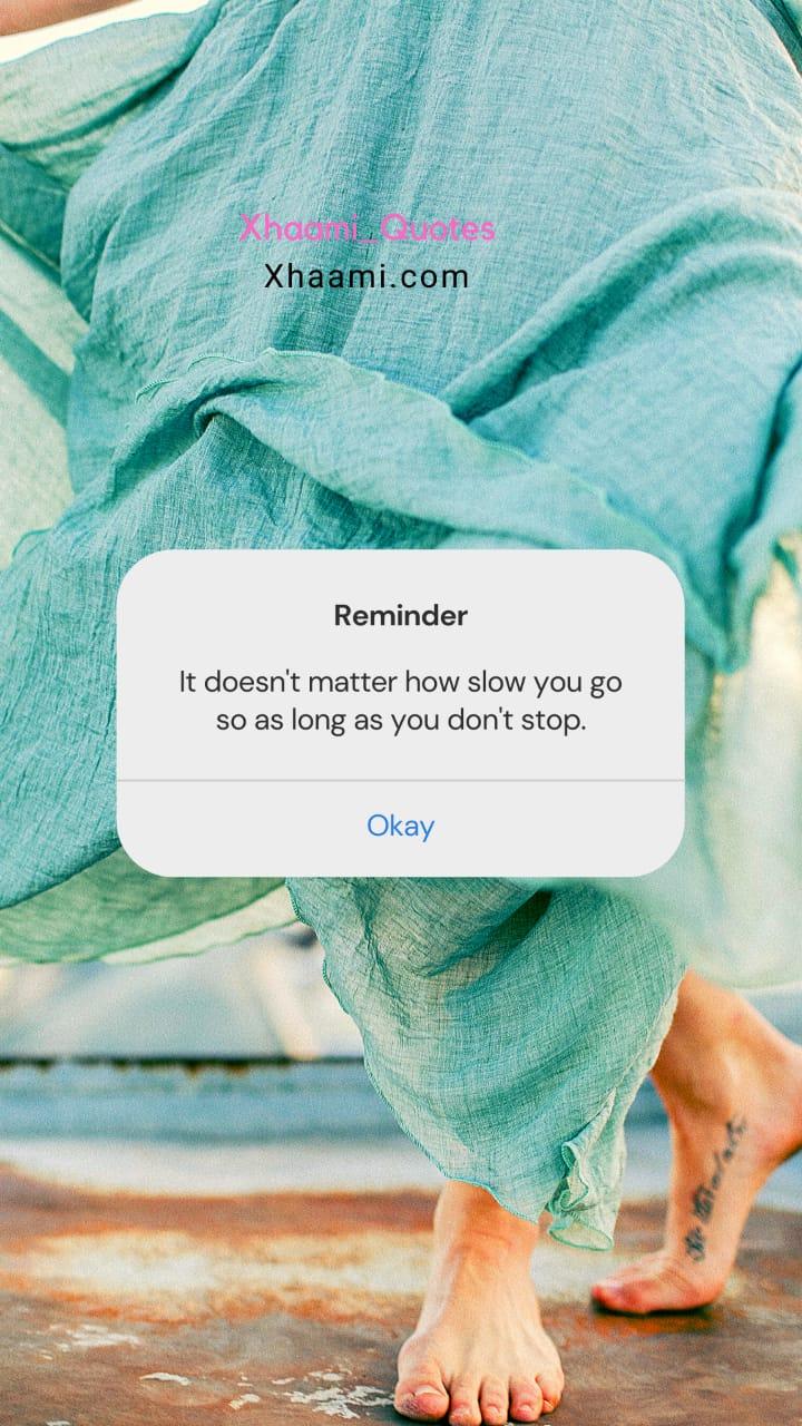 Reminder type Notification Quote Image