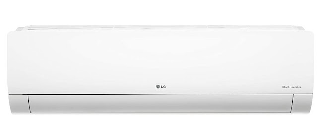 LG 1.5 Ton 5 Star Inverter Split AC (Copper, Convertible 5-in-1 Cooling, HD Filter with Anti-Virus protection , 2021 Model, MS-Q18YNZA, White)