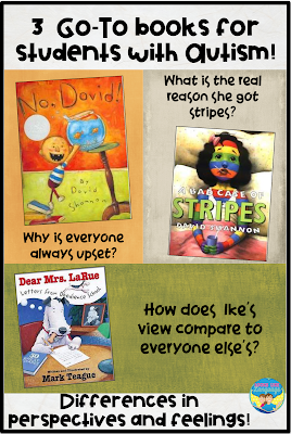 3 fantastic Go-To books for students with autism!