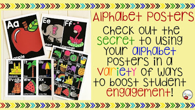 Getting More Use from Your Alphabet Posters