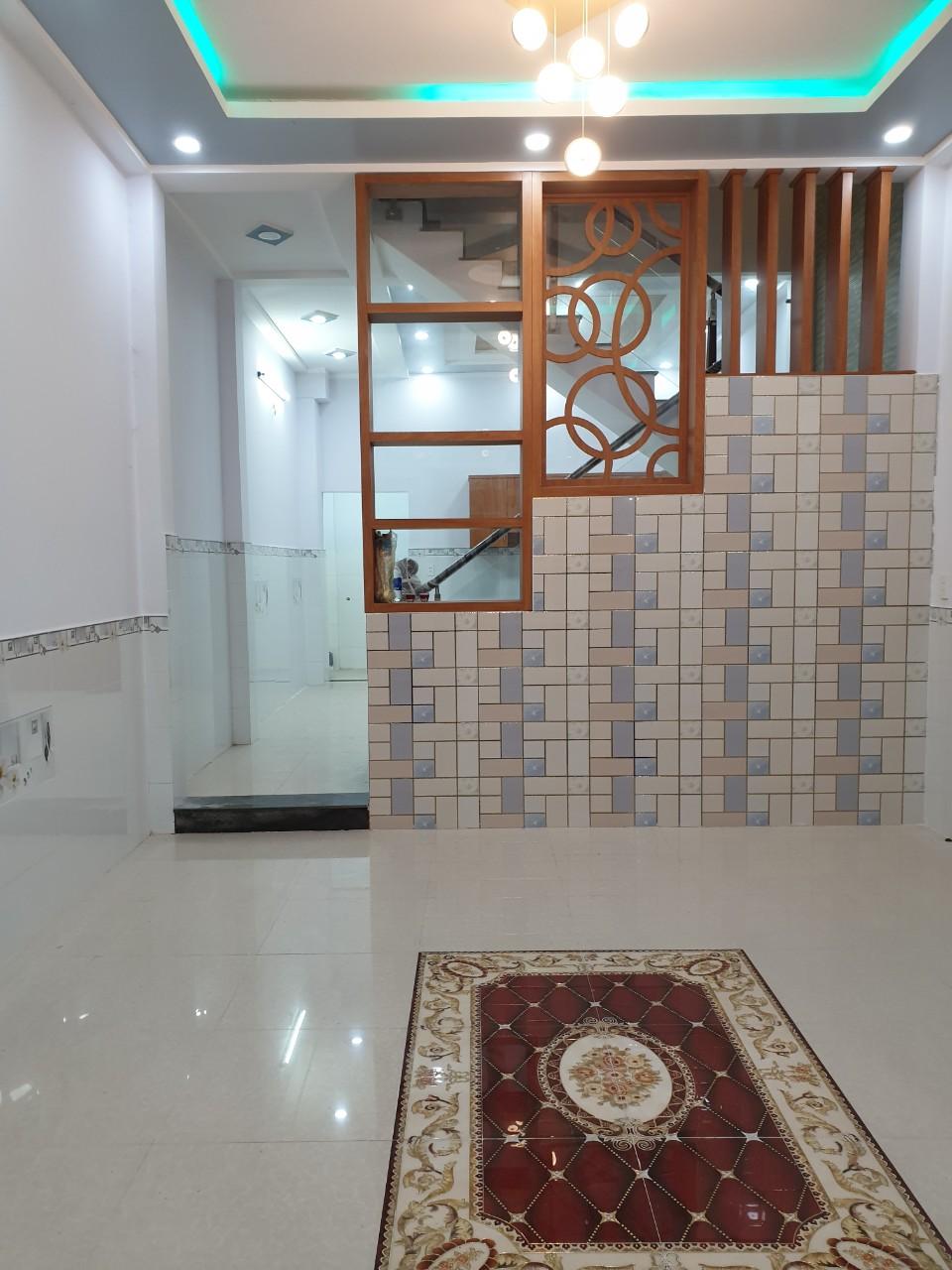 Bán nhà hẻm 2683 Phạm Thế Hiển phường 7 Quận 8, Nhà đẹp mới xây 4,4x12m