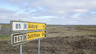 Intersection Dettifoss