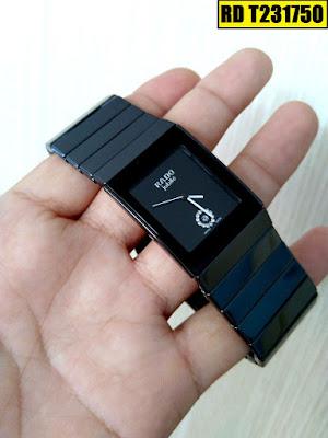 đồng hồ nam mặt vuông, đồng hồ nam mặt chữ nhật RD T231750