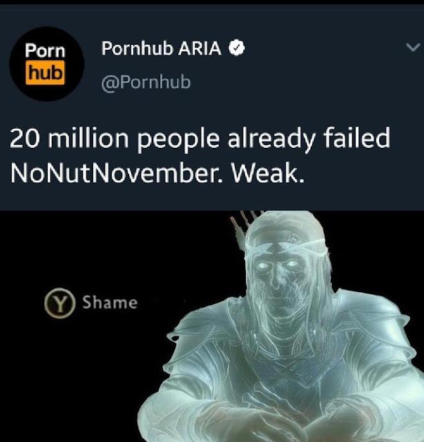 Shame on them