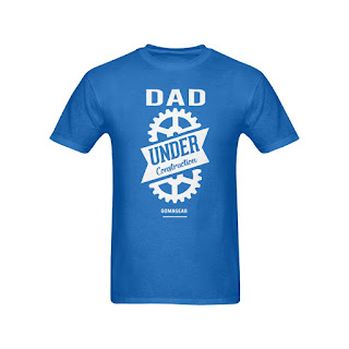 GOMAGEAR Dad Under Construction T-Shirt