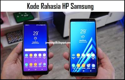 Kode Rahasia (Privat kode) Hp Samsung