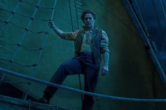 """Robert Downey Jr. pode falar com animais no 1º trailer de """"Dolittle"""""""
