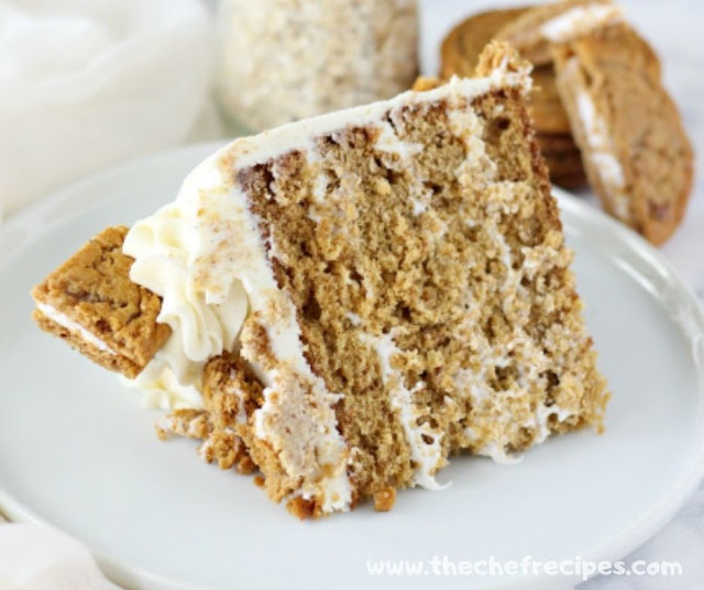 Oatmeal Cream Pie Layer Cake