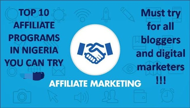 10 Best Affiliate  Programs in Nigeria that Pays
