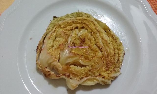 Cabbage steak - Bistecca... di verza