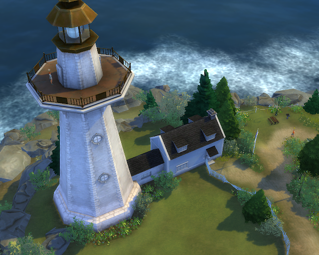 The sims 4 | Lighthouse