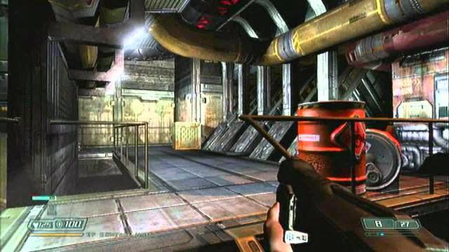 Doom 3 PC Games Gameplay
