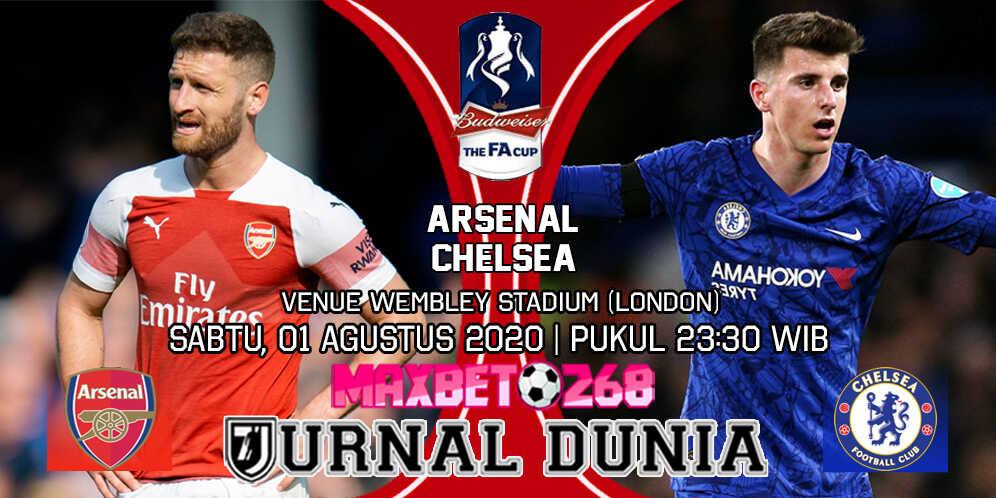 Prediksi Arsenal vs Chelsea 01 Agustus 2020 Pukul 23:30 WIB