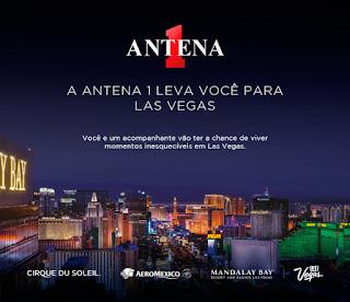 Promoção Las Vegas Antena 1 - Concorra a uma viagem!