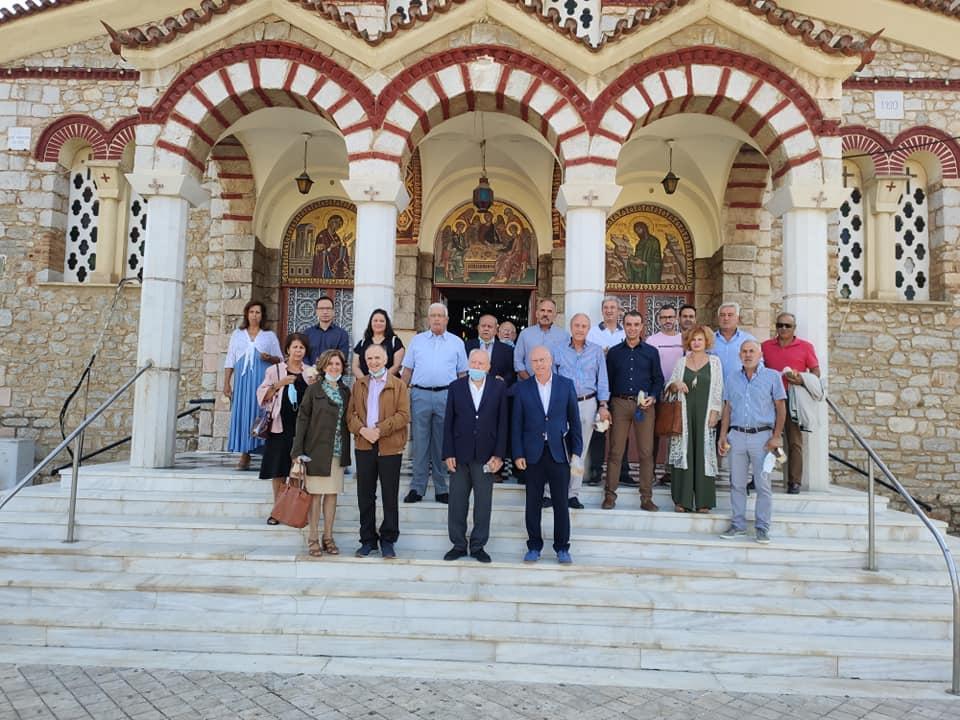Ο Σύλλογος Αποστράτων-Στελεχών Λιμενικού Σώματος Αργολίδος τίμησε τον Προστάτη του Άγιο Φωκά