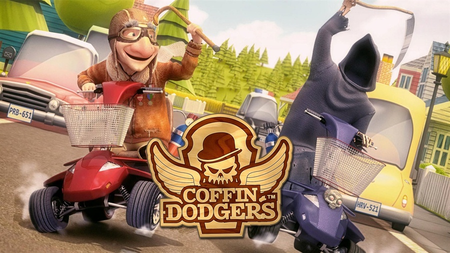 Coffin Dodgers Free Download Poster