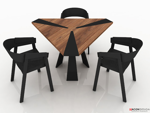 dacon-design-architekt-wroclaw-projekty-mebli-stol-trojkatny