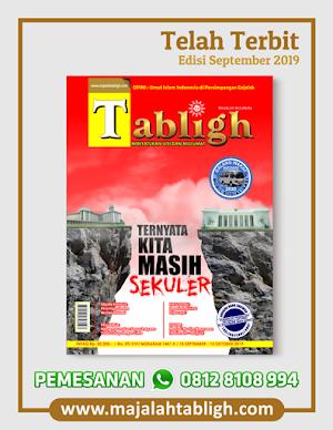 Majalah Tabligh Edisi September 2019