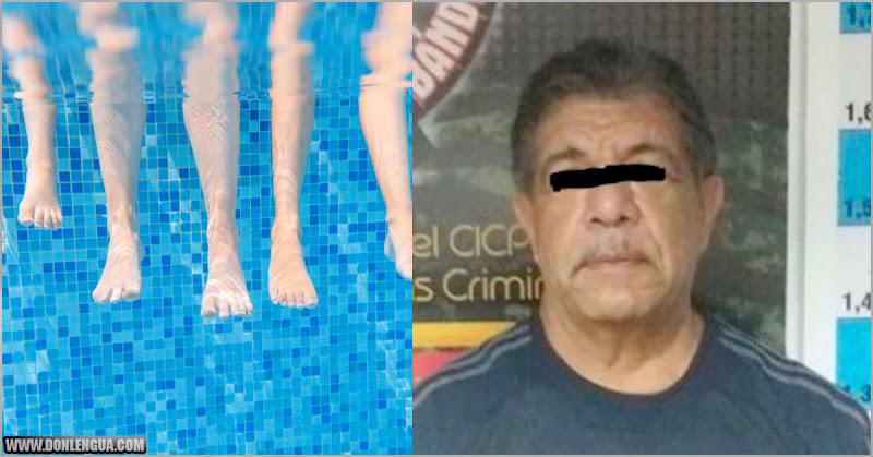 """Detenido profesor de natación por hacer """"cositas"""" con las niñas en Guayana"""