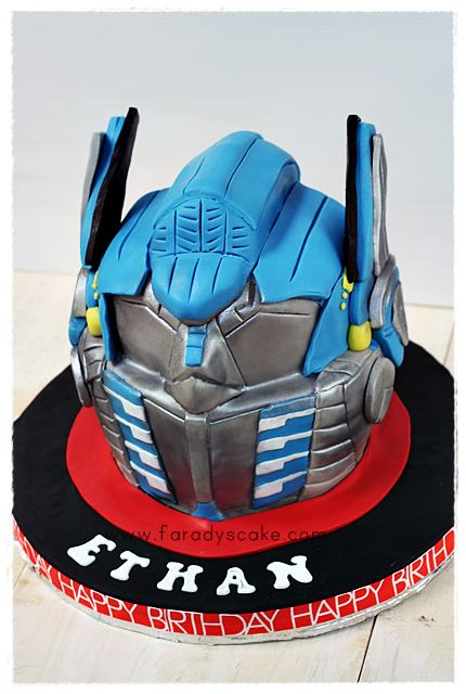 Optimus Prime Helmet Where Everything Is Made With Love