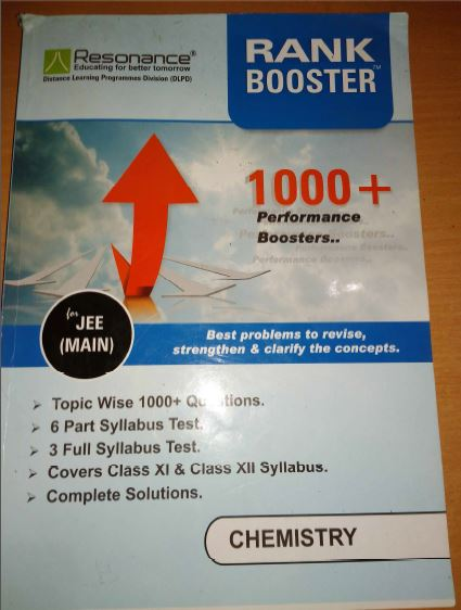 Chemistry Rank Booster : for JEE Exam PDF Book