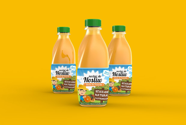Nosliw Orange Juice Packaging Of World - Creative