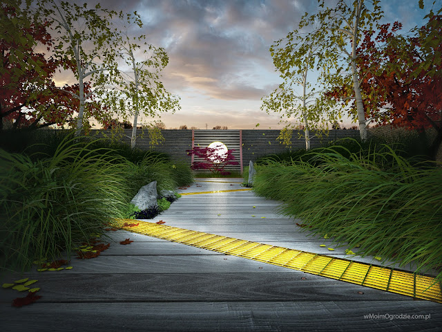 projektowanie ogrodów japońskich warszawa grójec radom