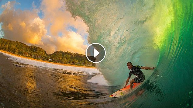 The Beautiful Chaos of Surfing Pipeline