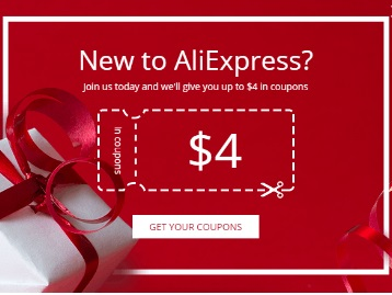 AliExpress Offer : Get 4$ Discount on 5$ Purchase for New Users in App