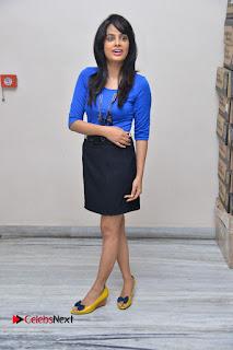 Actress Nandita Swetha Stills in Black Mini Skirt at Ekkadiki Potavu Chinnavada Movie Special Show  0064.JPG