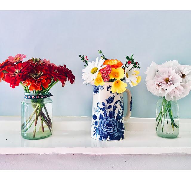 Homegrown Flower Arrangements