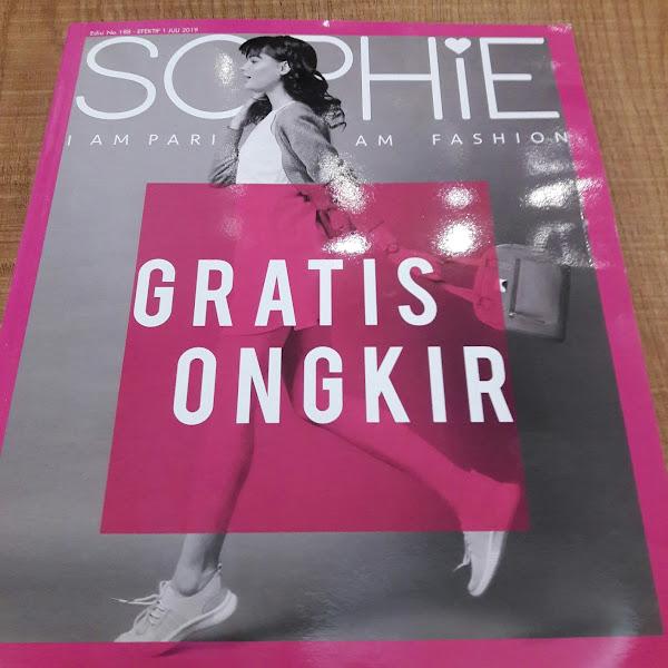Sophie Paris Launching Katalog Juli 2019 (Gratis Ongkir)