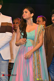 Actress Naina Ganguly Stills in Long Dress at Vangaveeti Audio Launch  0042.JPG