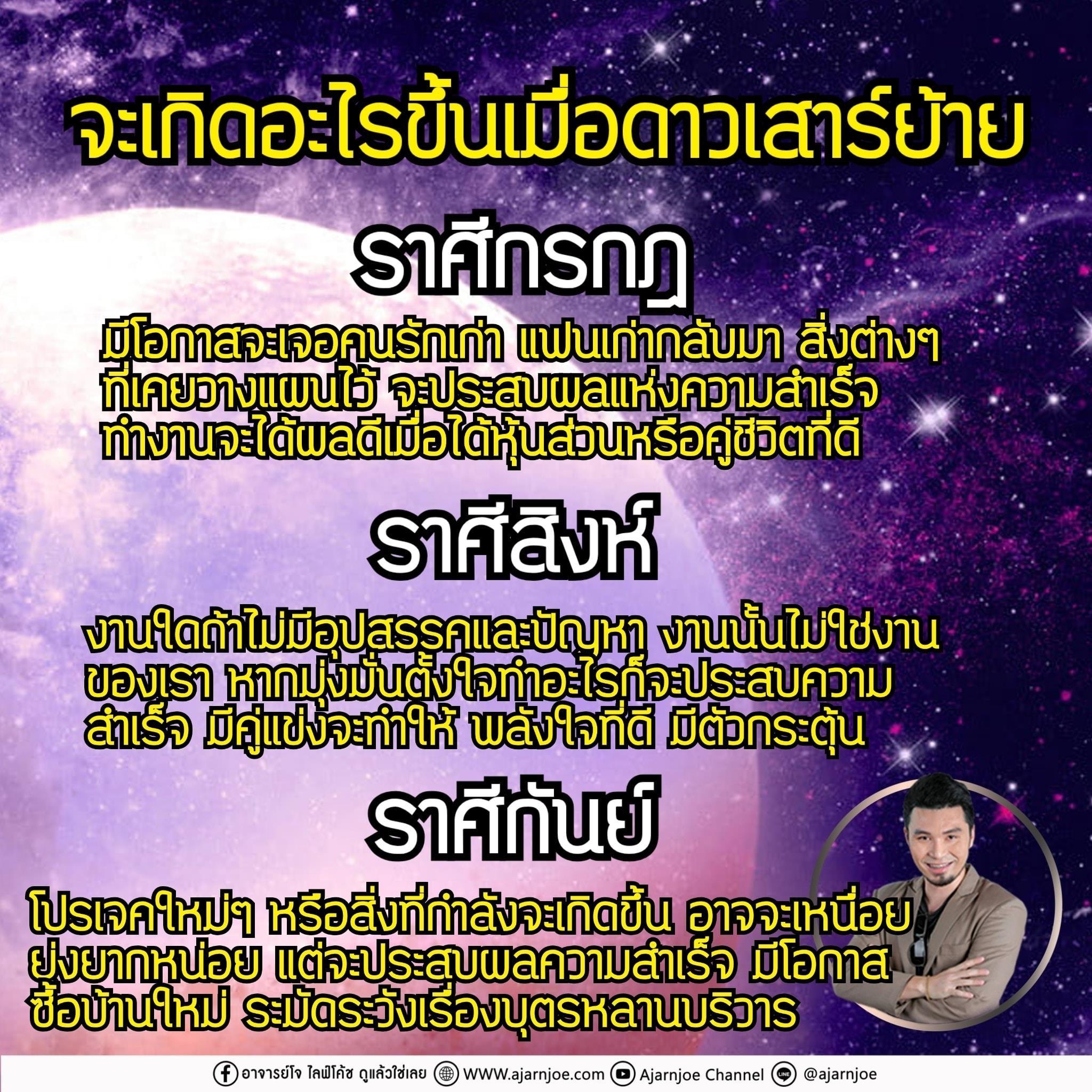 พยากรณ์ดวง 12 ราศี หลังดาวเสาร์ย้าย