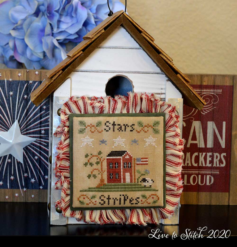 Stars and Stripes by Little House Needleworks