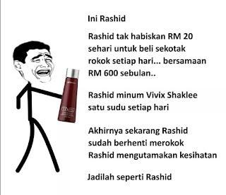 Rashid versi Shaklee