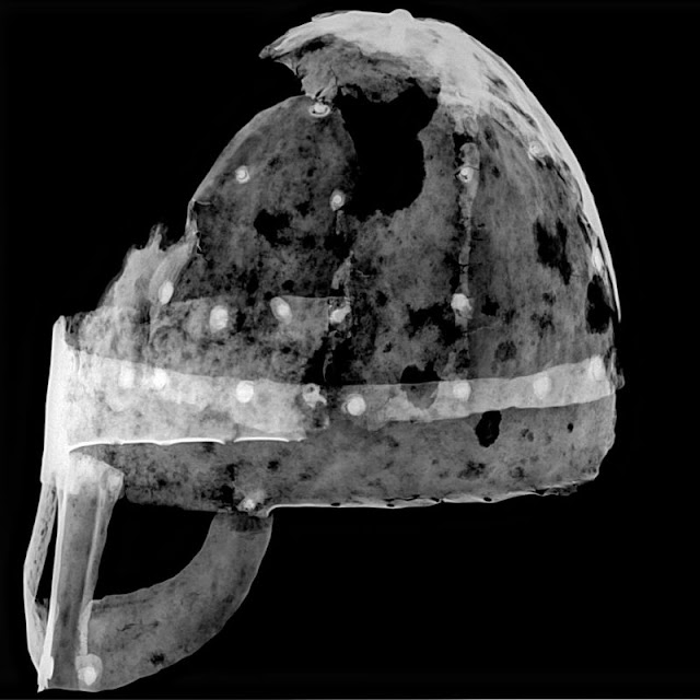 Britain's first Viking helmet discovered
