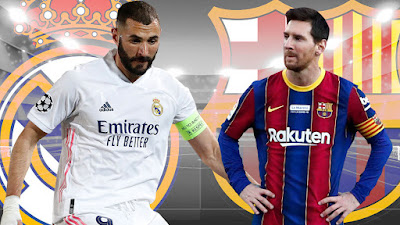 ريال مدريد ضد برشلونه