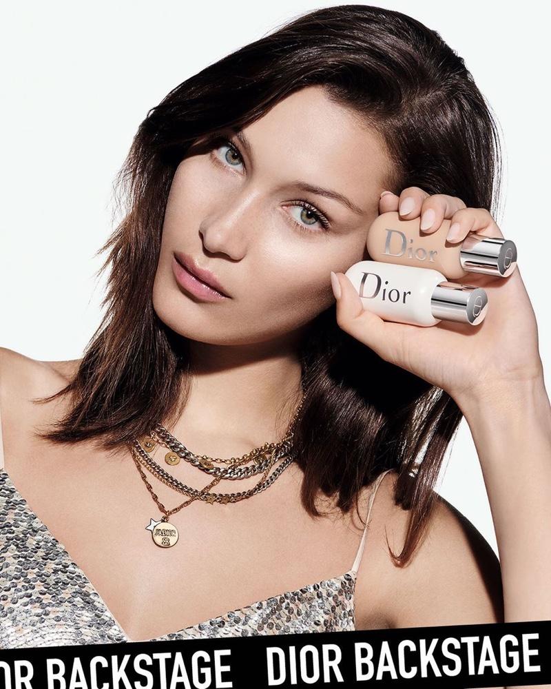 Bella Hadid fronts Dior Backstage foundation campaign