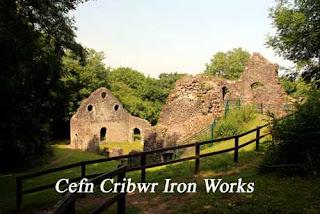 Cefn Cribrw Iron Works