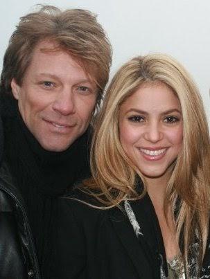 Bon Jovi 4 Ever: Jon Bon Jovi imita Shakira em concerto